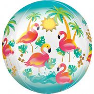 Orbz Tropical Flamingo Balloon | Anagram
