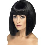 Coquette Black Wig | Smiffy's