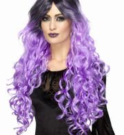 Gothic Glamour Purple Wig | Smiffy's