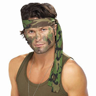 Army Camouflage Headband | Smiffy's