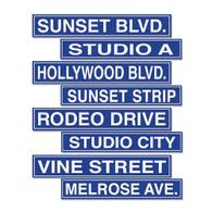 Hollywood Street Signs   Besitle