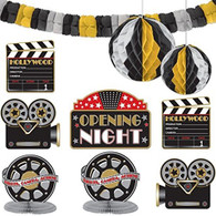 Hollywood Opening Night Room Decorationg Kit   Amscan