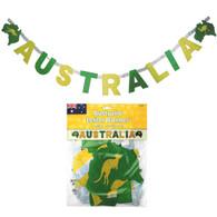 Australia Prismatic Letter Banner | Amscan