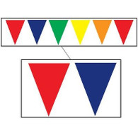 Multi-Colour Outdoor Pennant Banner | Beistle