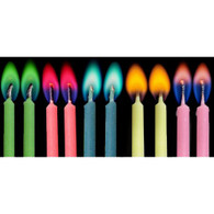 Colourflame Birthday Mixed Colours Candles | Alpen