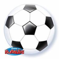 Qualatex Soccer Ball Bubble Balloon