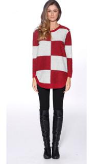 Women's Knitwear | Block It Knit | HONEY & BEAU