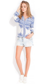 Women's Tops | Resort Blouse | WISH