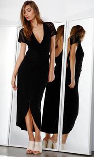 Ladies Dresses | Aura Wrap Dress | FATE