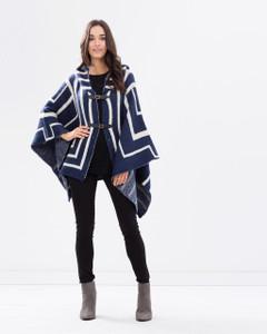 Jackets for Women | Lapis Poncho | KITCHY KU