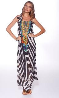 Ladies Dresses Online | Tanzania Maxi Dress | HONEY & BEAU
