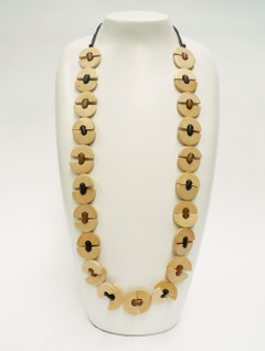 Women's Jewellery | FN2587 - Yellow Long Chain Necklace | FAB