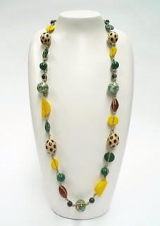 Women's Jewellery in Australia | FN2592 - Multi Coloured Long Necklace  | FAB