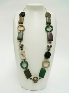 Women's Jewellery | FN2594 - Long Tribal Necklace | FAB