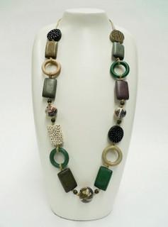 Women's Jewellery | FN2594 - Long Tribal Necklace | FAB