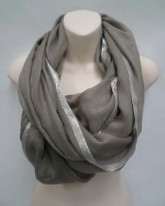 Women's Accessories | FA2802- GreyScarf | FAB