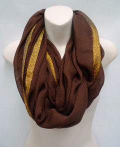 Women's Accessories | FA2803- Brown Scarf | FAB
