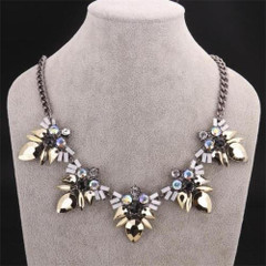 Women's Necklaces | FN2601 - Silver Triangle Necklace | FAB