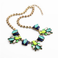Women's Accessories | FN2610- Shades of Blue Necklace | FAB