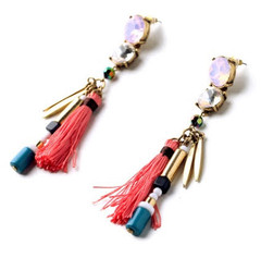 Women's Earrings Online | FE2615 - Tassel Earring | FAB*