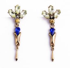 Women's Accessories | FE2618 - Blue Drop Earring | FAB