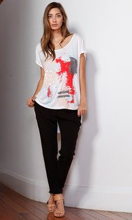 Women's Tops   Artistry Graphic Tee   FATE