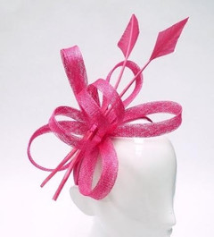 Women's Fascinators | FH2300P - Pink Arrow Fascinator | FAB