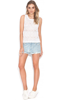Women's Tops in Australia | Pippi Crochet Tank | WISH