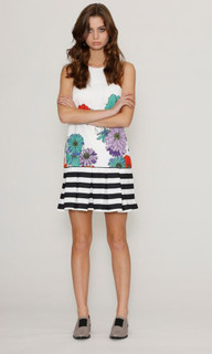 Ladies Dresses | Flora Impact Pleat Dress | HONEY & BEAU
