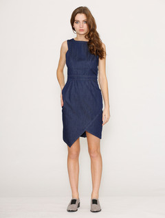 Ladies Dresses Online | Dion Denim Dress | HONEY & BEAU