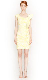 Ladies Dresses Online | Spring Bloom Frill Dress | HONEY & BEAU