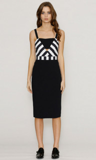 Ladies Dresses in Australia | Flora Impact Pencil Dress | HONEY & BEAU