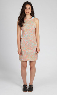 Ladies Dresses | Retro Dyed Dress | APPLEBLUE