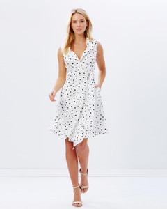 Ladies Dresses   Dotty Dress   KITCHY KU