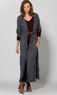 Jackets for Women | Corin Longline Trench | FATE