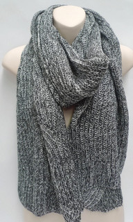 Women's Accessories Online | FA2804  - Grey Blend Scarf | FAB