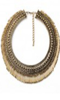 Women's Accesories in Australia | FN2616 - Gold Statement Necklace | FAB