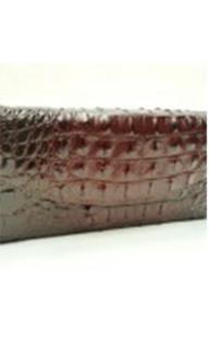 Women's Bags | ON514BRN - Brown Croc Clutch | FAB