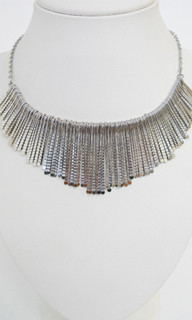 Women's Jewellery | ON565 - Silver Choker Necklace | FAB