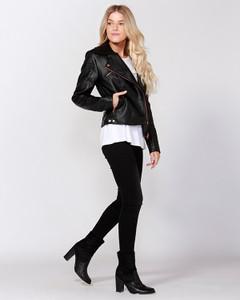 Jackets for Women | Biker Rose Jacket | SASS