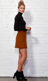 Women's Skirts | Sue Suedette Skirt | SASS