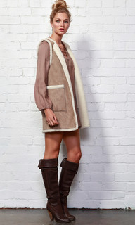 Jackets for Women | Shellery Sherpa Vest | SASS