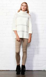 Woman's Knitwear | Cassie Roll Neck Jumper | Sass