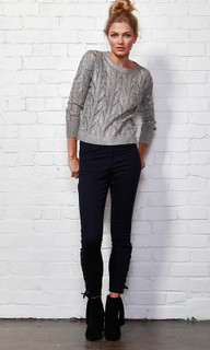 WOMEN'S KNITS | Frankie Foiled Knit | SASS