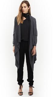 Women's Knitwear | Cascade Long Cardi | HONEY & BEAU
