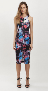 Ladies Dresses Australia | Monet Zip Front Dress | HONEY & BEAU