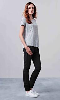 Women's Pants | EM102A Black Stretch Pants | ELLY M