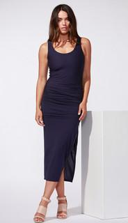 Ladies Dress | Tatiana Dress in navy | FATE