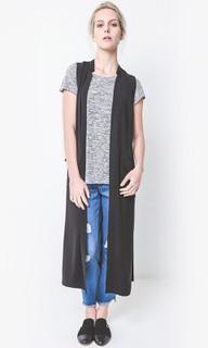 Women's Vests | EM408 Zoe Trench Vest | ELLY M