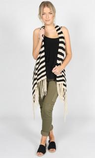 Women's Knitwear   Skara Knitted Vest   SASS